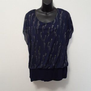 Lightning Bolt Sequil Navy Top XL